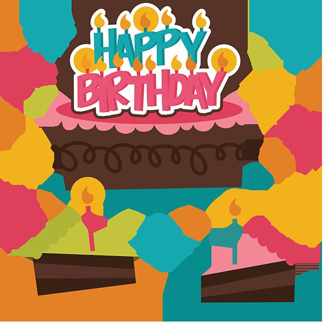 Happy Birthday Svg Birthday Cake Svg File Birthday Girl