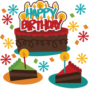 Happy Birthday SVG birthday cake svg file birthday girl svg file svg files for scrapbooking