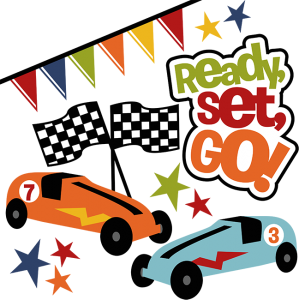 Ready Set Go! SVG pinewood derby svg file car svg file race car svg file svg files for scrapbooking
