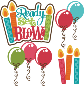Ready, Set, Blow SVG birthday svg file birthday cake svg file free svgs svg files for scrapbooking