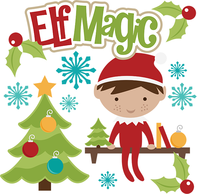 Elf Magic Svg Christmas Svg Files Elf Svg File Svg File