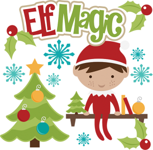 Elf Magic SVG christmas svg files elf svg file svg file free svgs svg files for scrapbooking