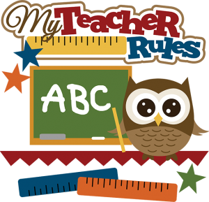 My Teacher Rules SVG school svg file owl svg files svg files for scrapbooking cute clipart