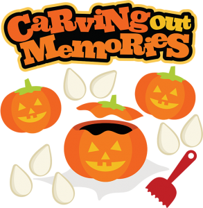 Carving Out Memories SVG halloween svg file pumpkin svg file jack o lantern svg file