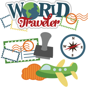 World Traveler SVG vacation svg file traveling svg files airplane svg file svg files for scrapbooking