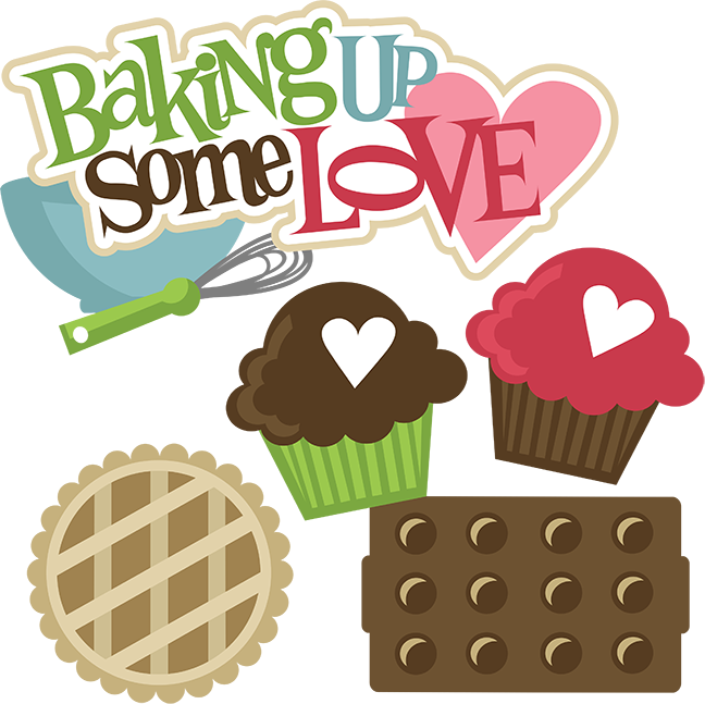 Baking Up Some Love SVG svg files for scrapbooking cupcake ...