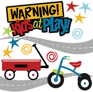 Warning! Kids At Play SVG Collection kids svg files svg files for scrapbooking free svg files