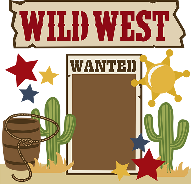 Wild west clipart