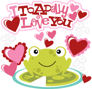 I Toadally Love You SVG valentines svg files free svgs files cutting files for scrapbooking