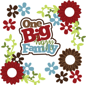 One Big Happy Family SVG family svg files for scrapbooking free svg files free cutting files for scrapbooking