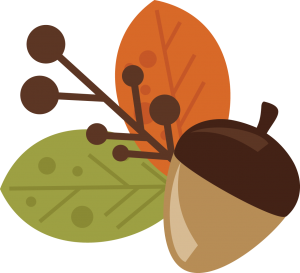 Acorn and Leaves free svg files free svg files for scrapbooking