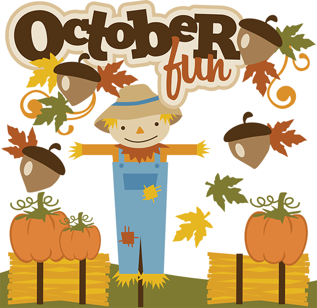 October Fun SVG files fall svg files autumn svg files for ...
