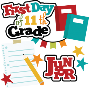 First Day Of 11th Grade SVG school svg files for scrapbooking free svg files