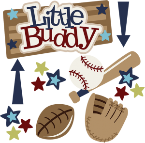 Little Buddy SVG boy svg files footbal dvg file baseball svg file baseball mitt svg file
