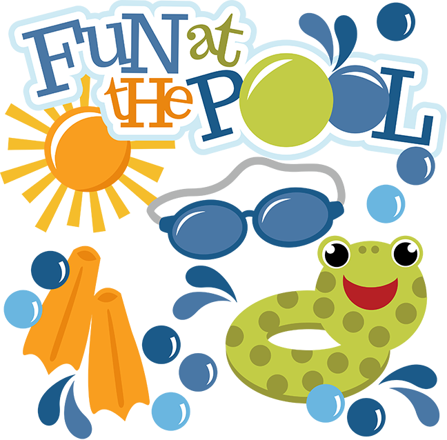Fun at the pool svg swimming svg files for scrapbooking for Pool design books
