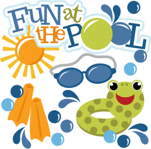 Fun At The Pool SVG swimming svg files for scrapbooking swimming pool cut files for scrapbooking