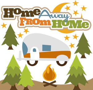 Home Away From Home SVG camping svg files camping trailer svg file for scrapbooking