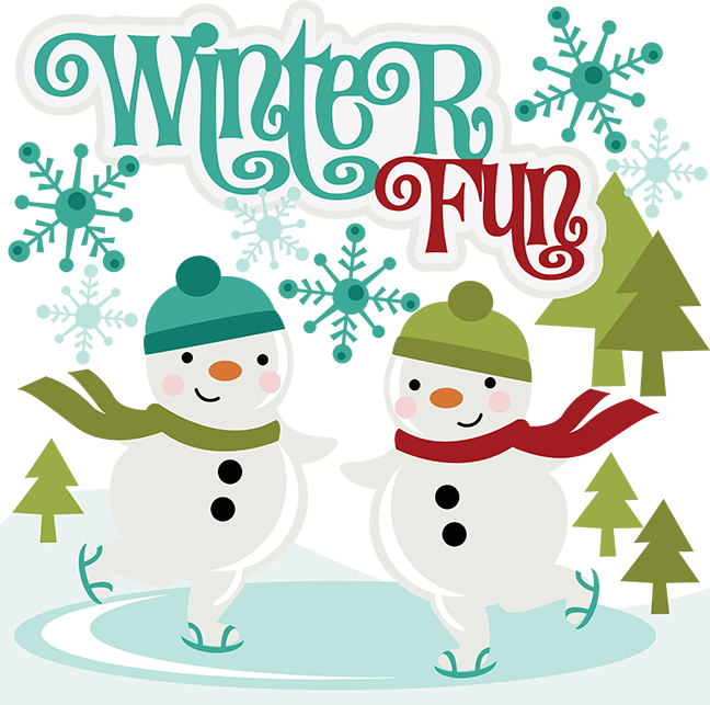 Winter Fun SVG Scrapbook Collection svg files for ...