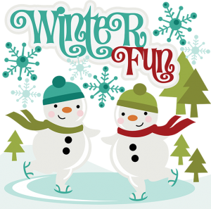 Winter Fun SVG Scrapbook Collection svg files for scrapbooking cut files for scrapbooking winter svgs snow svgs