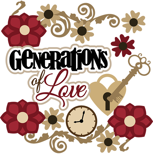 Generations Of Love SVG Scrapbook Collection heritage svg ...