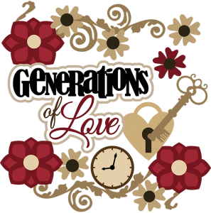 Generations Of Love SVG Scrapbook Collection heritage svg file for scrapbooking cute cut files for scrapbooking