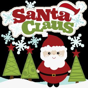 Santa Claus SVG Scrapbook Collection santa svg file for scrapbooking santa cut files christmas svg files