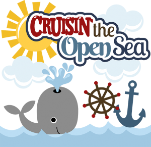Cruisin' The Open Sea SVG Scrapbook Collection whale svg file cruise svg files for scrapbooks