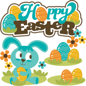 Hoppy Easter SVG Scrapbook Collection easter svg files for scrapooks cardmaking cute cut files for scrapbooking