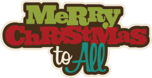 Merry Christmas To All SVG scrapbook svg files for scrapbooking cute cut files for scrapbooks