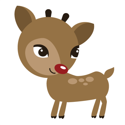 Reindeer SVG File For Scrapbooking Cute Cut Files Scrapbooks Svg Cuts Cardmaking
