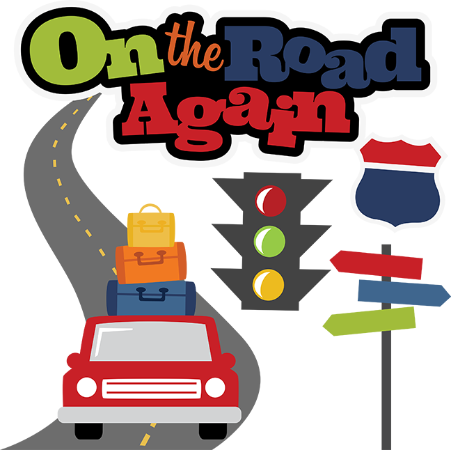 On The Road Again SVG scrapbook file vacation svg files ...