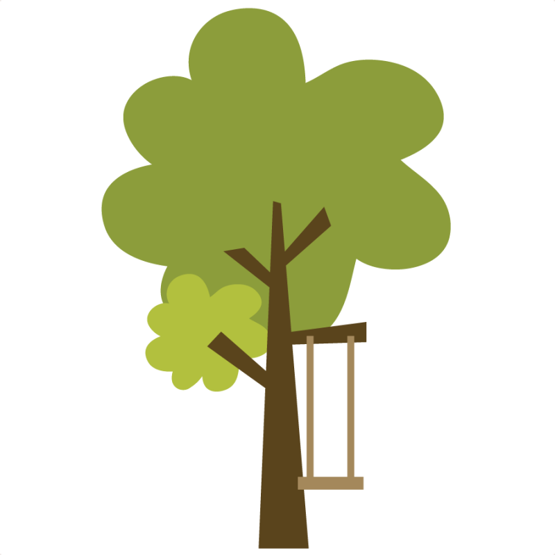 green tree clip art branches