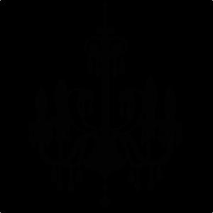 Chandelier SVG file for scrapbooking cardmaking cute svg cuts for scrapbooks svg files