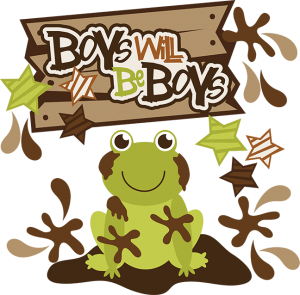 Boys Will Be Boys SVG scrapbook collection cute svg files cute svg cut files cute cut files