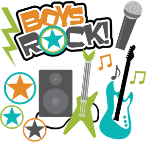 Boys Rock! SVG Scrapbook Collection boys svg files for scrapbooking teen boy cut files for scrapbooks