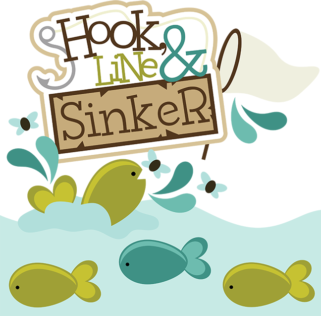 how to set up a fishing line hook and sinker