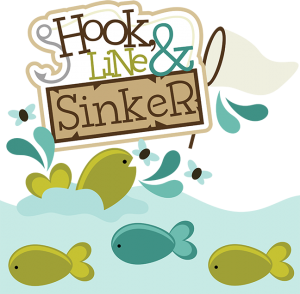Hook, Line & Sinker SVG scrapbook collection fishing svg files fishing svg cut files for scrapbooks