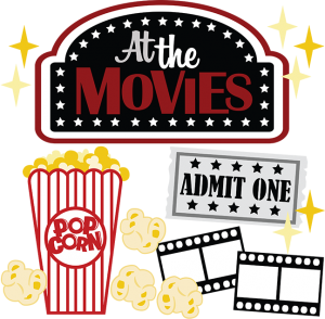 At The Movies SVG scrapbook files movie svg file for scrapbooking movie svg cuts popcorn svg file