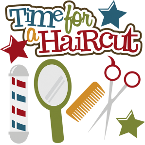 Time For A Haircut SVG scrapbook files haircut svg files cute svg cuts cut files for scrapbooking