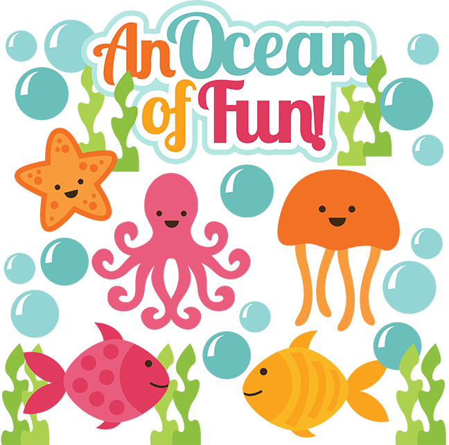 An Ocean Of Fun Svg Scrapbook Cute Svg Cuts Cut Files For