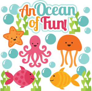 An Ocean Of Fun SVG scrapbook cute svg cuts cut files for scrapbooking ocean svg cuts