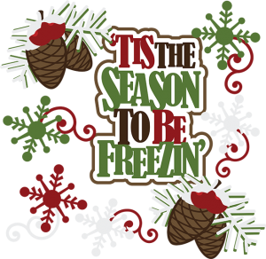 'Tis The Season To Be Freezin' SVG scrapbook collection christmas svgs christmas svg cuts