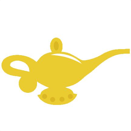 Genie Lamp SVG File For Scrapbooking Svg Cut Scrapbooks