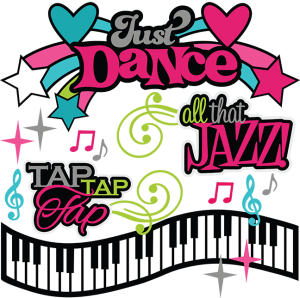 Just Dance SVG scrapook collection dance svg files dance svg cuts cutting files for scrapbooking