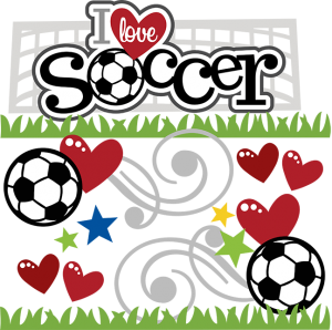 I Love Soccer SVG scrapbook file soccer svg files soccer svg cuts soccer ball cut files