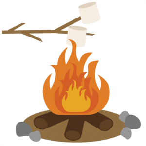 Roasting Marshmallows SVG scrapbook file camping svg files camping svg cuts cut files for scrapbooking