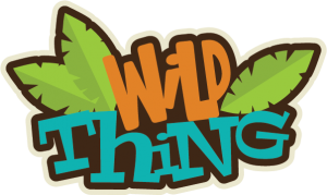 Wild Thing Title SVG scrapbook title svg files free svgs cute svg cuts svg cuts for scrapbooking