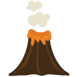 Volcano SVG file volcano svg file for scrapbooking volcano svg cuts cute cute files for cardmaking