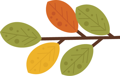 Leaves With Branch SVG files for scrapbooking outdoors svg ...