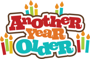 Another Year Older SVG scrapbook title birthday svg file for scrapbooking birthday svg cuts